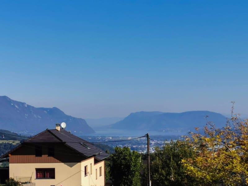 Terrain constructible - vue imprenable lac et montagnes - St Cas