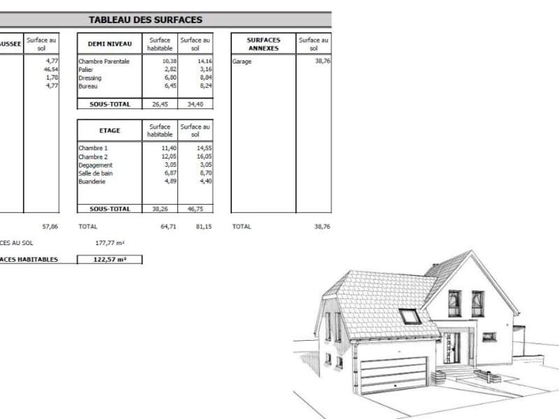 Verkauf haus Oberlauterbach 339900€ - Fotografie 6