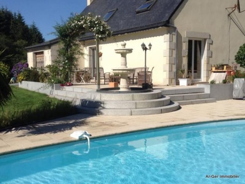 Vente maison / villa Bourbriac 229728€ - Photo 1