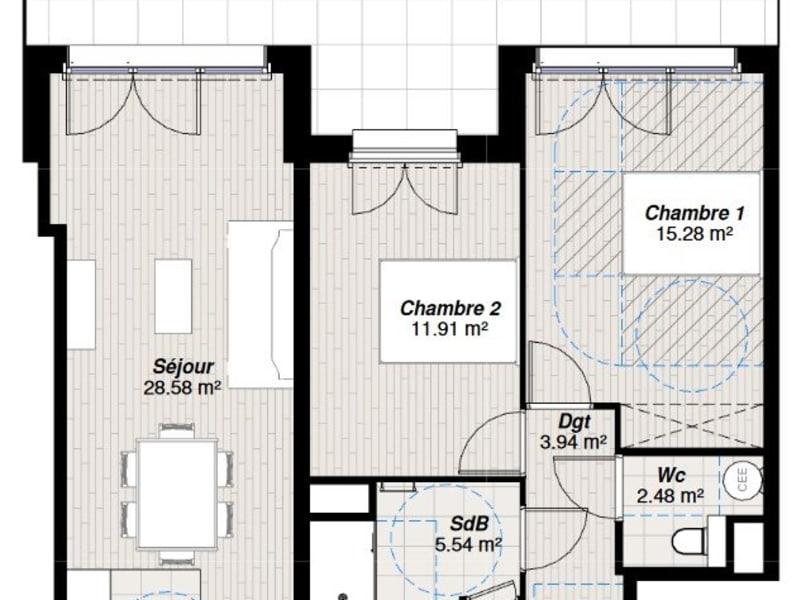 Vente appartement Reims 310000€ - Photo 2
