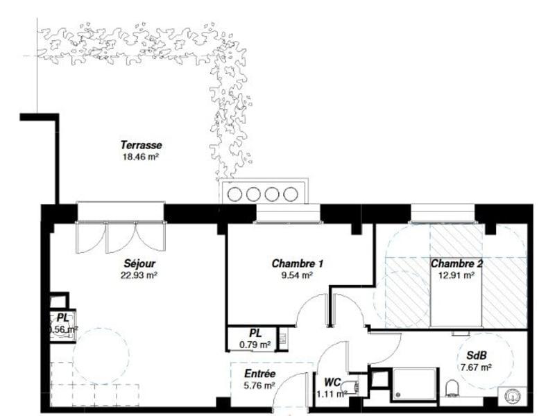 Sale apartment Reims 385000€ - Picture 2