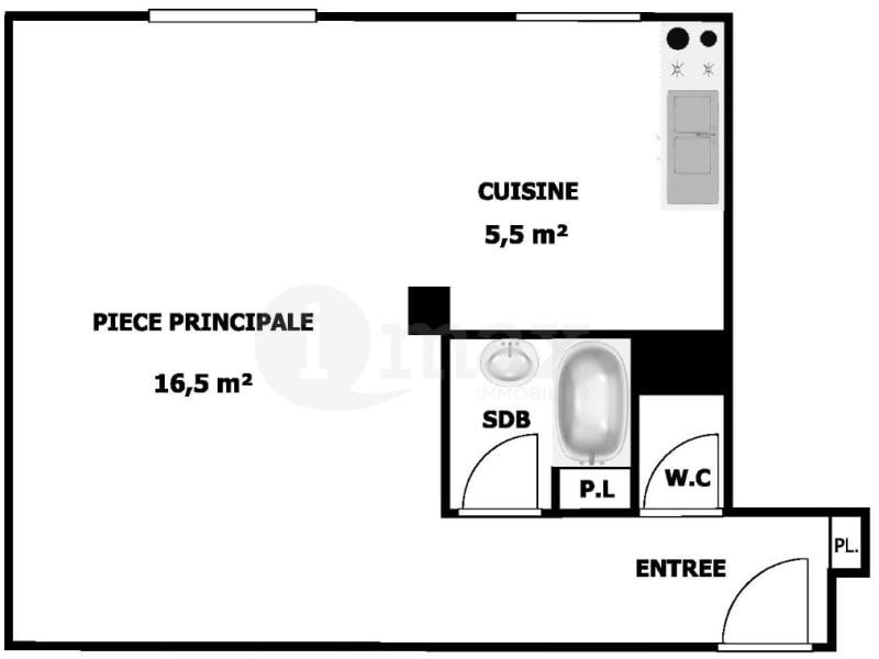 Vente appartement Clichy 200000€ - Photo 3