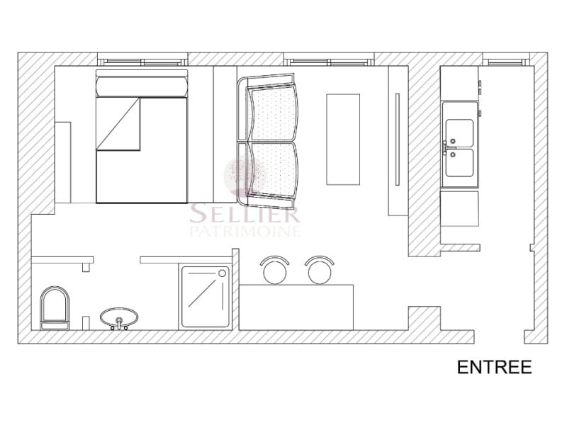 Verkoop  appartement Paris 5ème 314400€ - Foto 10