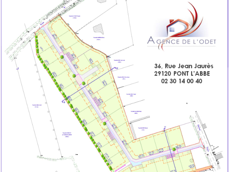 Vente terrain Ploneour lanvern 41500€ - Photo 2
