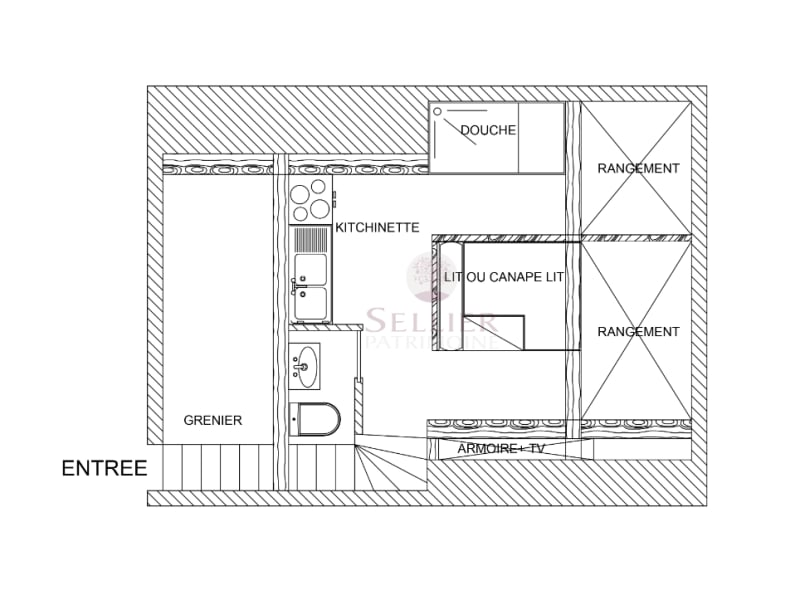 Verkoop  appartement Paris 6ème 360000€ - Foto 5