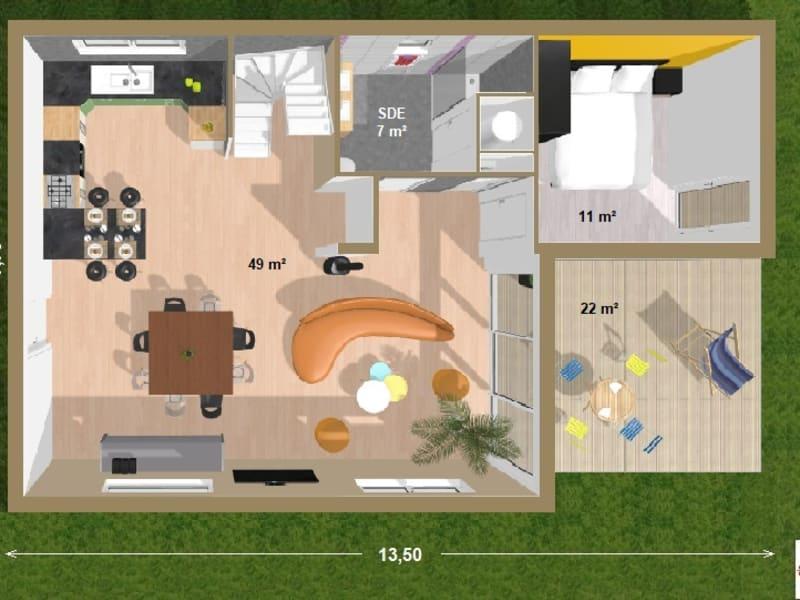 Sale site Guignen 75500€ - Picture 4