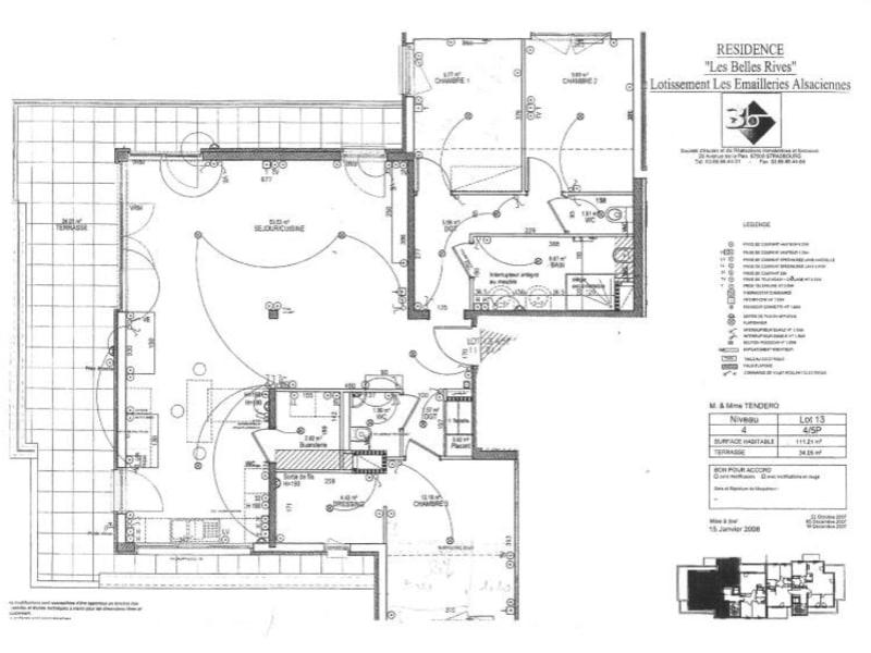 Vente appartement Hoenheim 452800€ - Photo 9