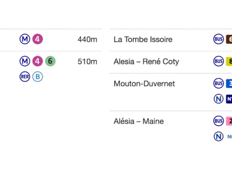 出售 公寓 Paris 14ème 505000€ - 照片 16