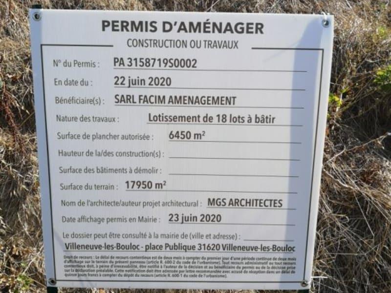 Sale site Villeneuve les bouloc 109500€ - Picture 2