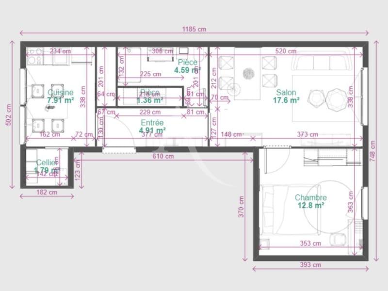Sale apartment Colomiers 109000€ - Picture 10
