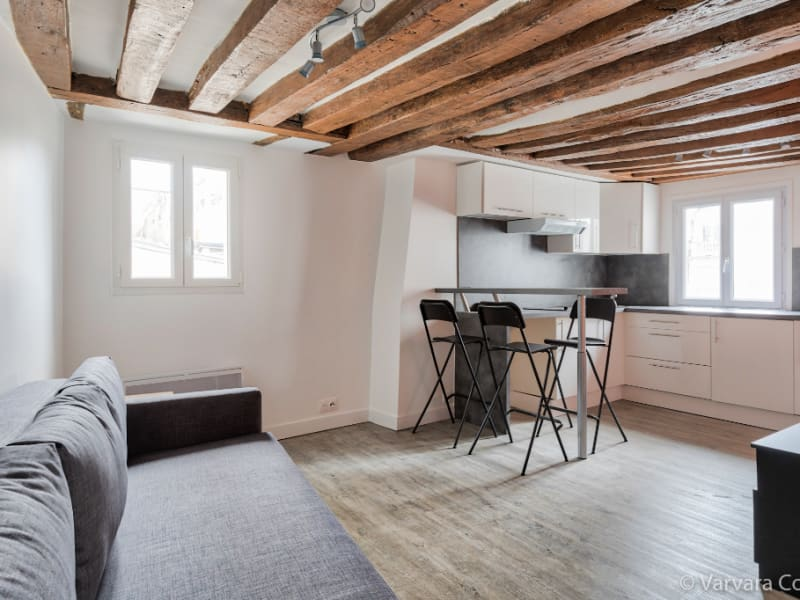Location appartement Paris 5ème 890€ CC - Photo 2