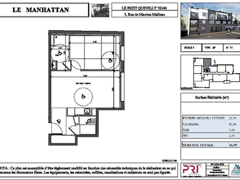 Appartement Le Petit Quevilly 2 pièce(s)
