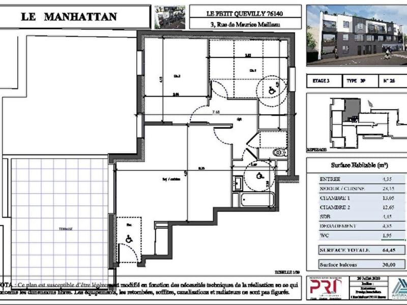 Vente appartement Le petit quevilly 247500€ - Photo 1