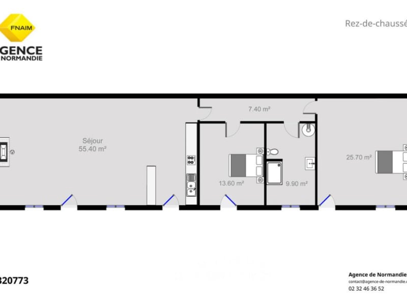 Vente maison / villa L' aigle 320000€ - Photo 3