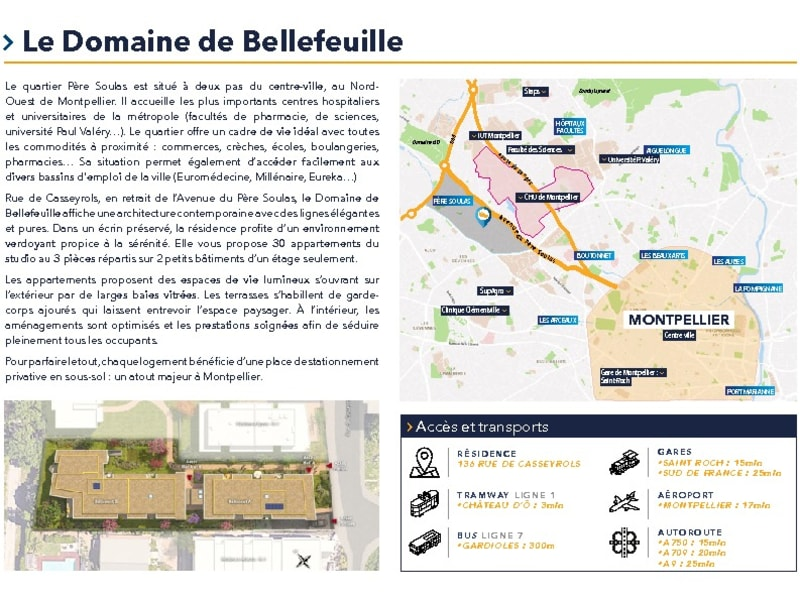 New home sale building Montpellier  - Picture 5