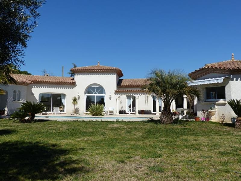 Sale house / villa Lignan sur orb 610000€ - Picture 1
