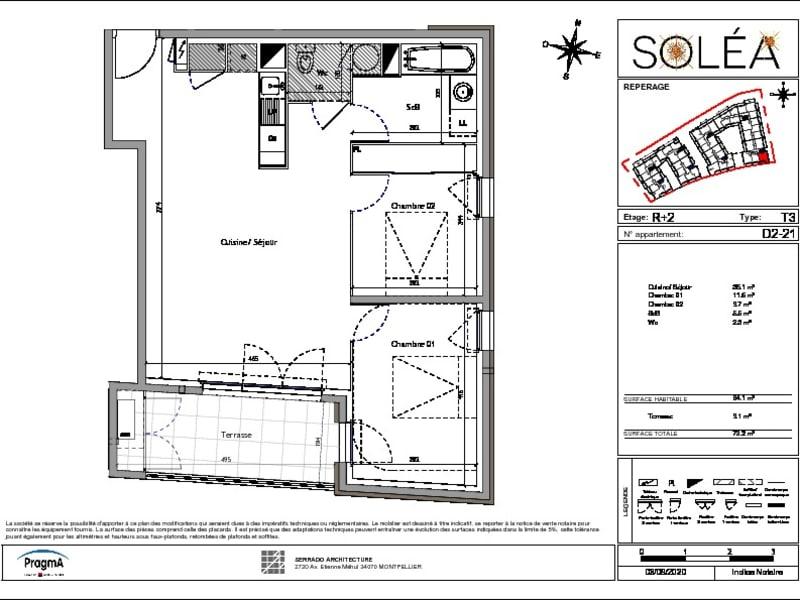 Vente appartement Vendargues 252000€ - Photo 5