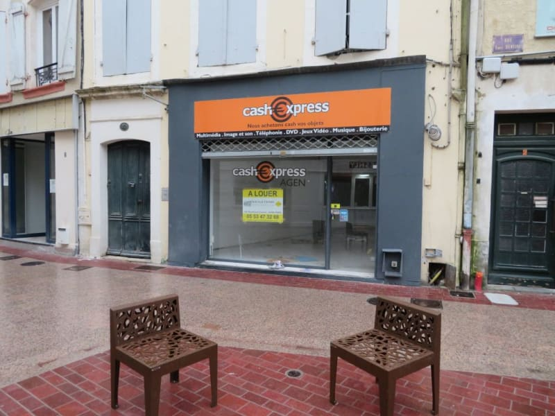Location local commercial Agen 700€ HC - Photo 1