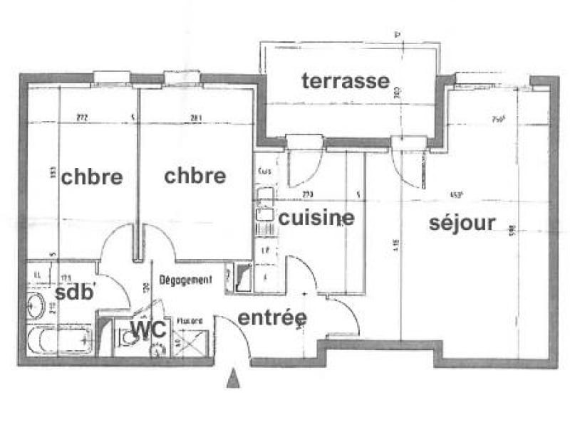 Vente appartement Strasbourg 154500€ - Photo 8