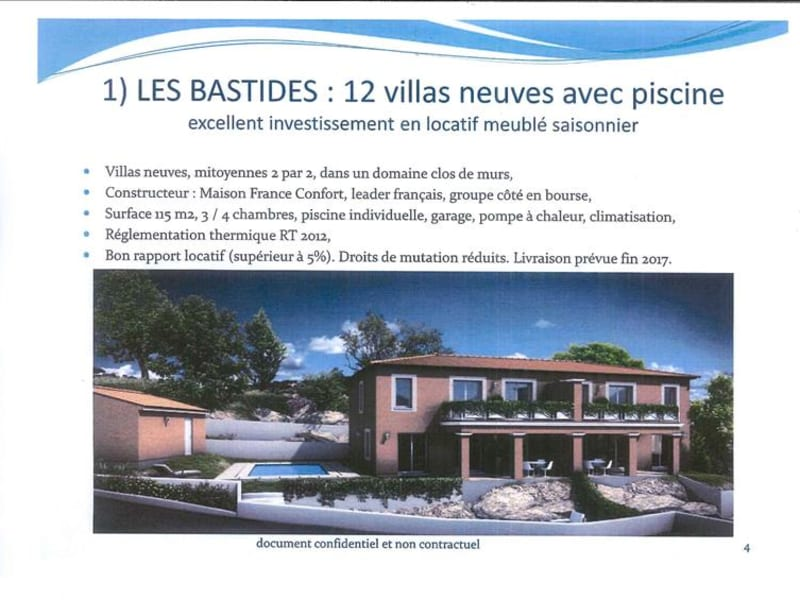 BASTIDE C ' LES ISSAMBRES - 4 pièce(s) - 114 m2