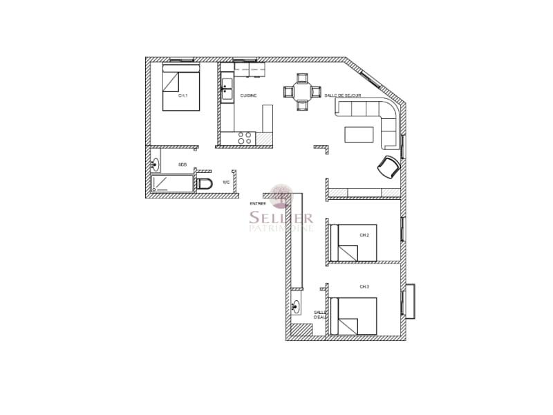 出售 公寓 Paris 14ème 740000€ - 照片 3