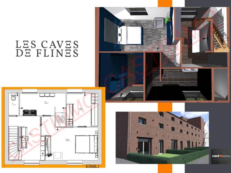 Vente maison / villa Flines lez raches 166400€ - Photo 2