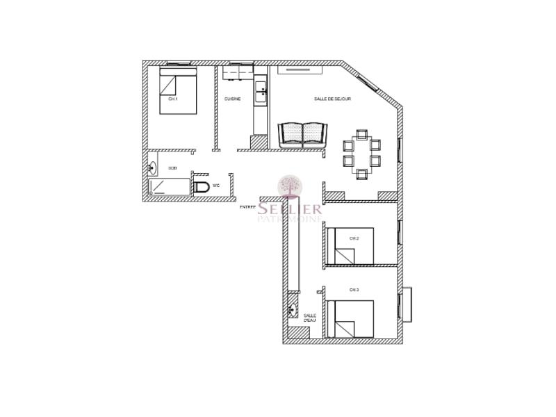 出售 公寓 Paris 14ème 740000€ - 照片 4
