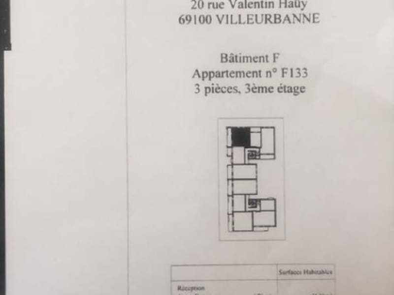 Rental apartment Villeurbanne 782€ CC - Picture 3