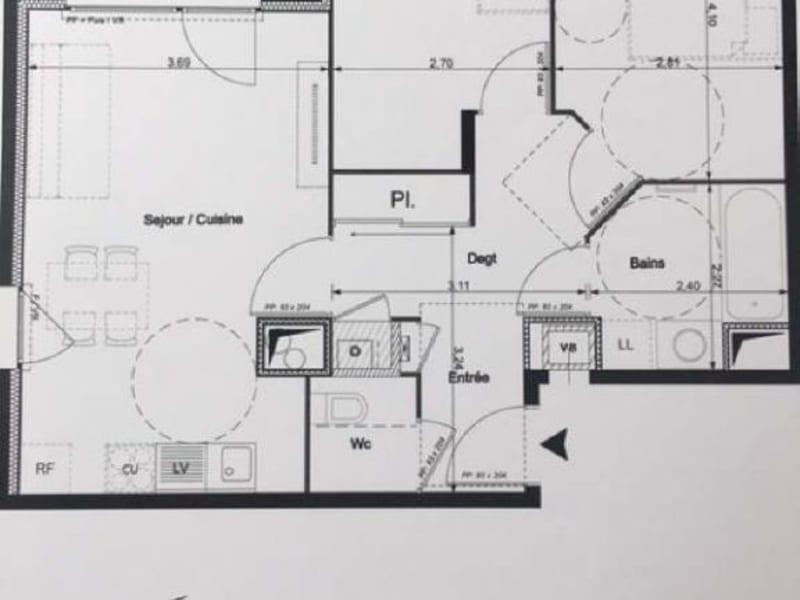 Rental apartment Venissieux 702€ CC - Picture 2