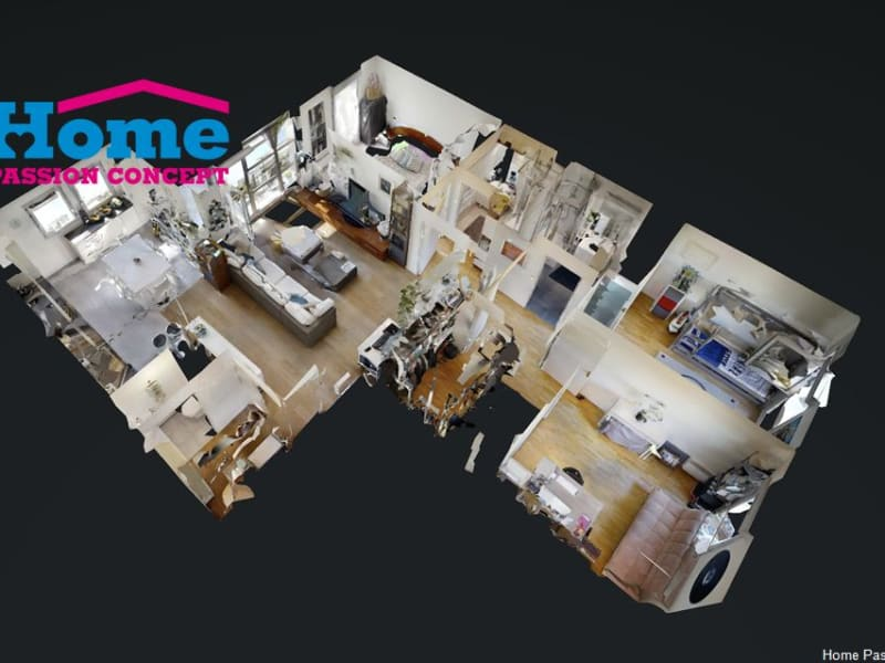 Vente appartement Nanterre 529000€ - Photo 1