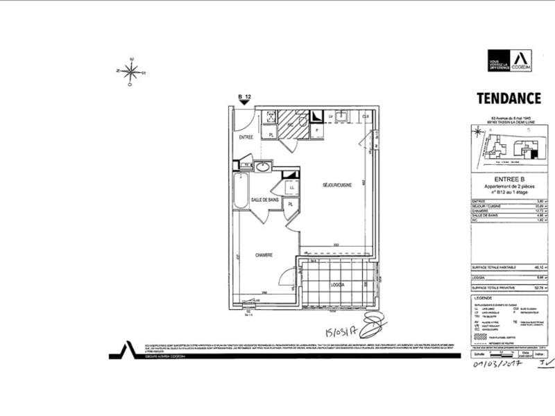 Rental apartment Tassin la demi lune 705€ CC - Picture 2