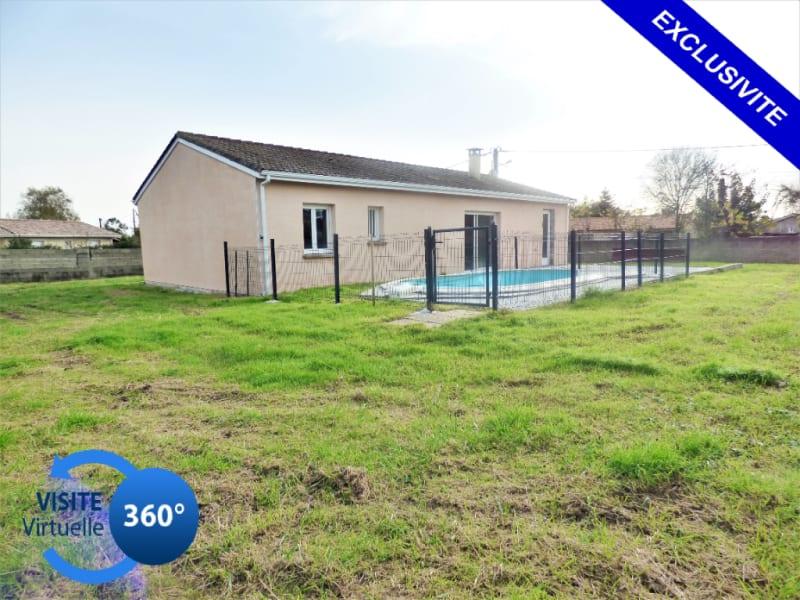Maison 91 m² + garage 33460 Cussac Fort Medoc