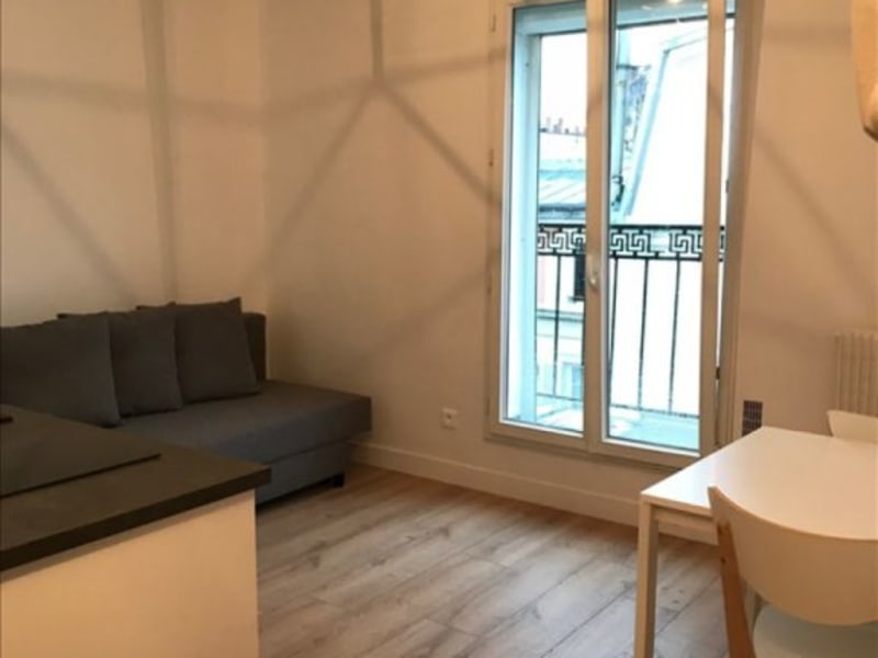 Rental apartment Paris 17ème 895€ CC - Picture 2