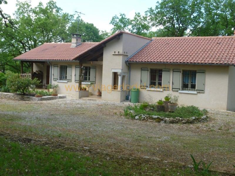 Life annuity house / villa Limogne-en-quercy 53000€ - Picture 1