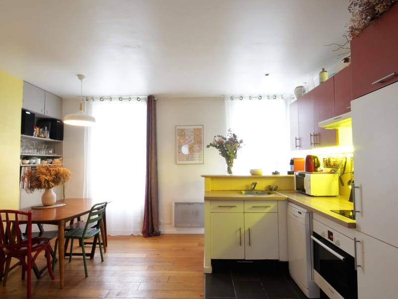 Vente appartement Paris 10ème 382000€ - Photo 1