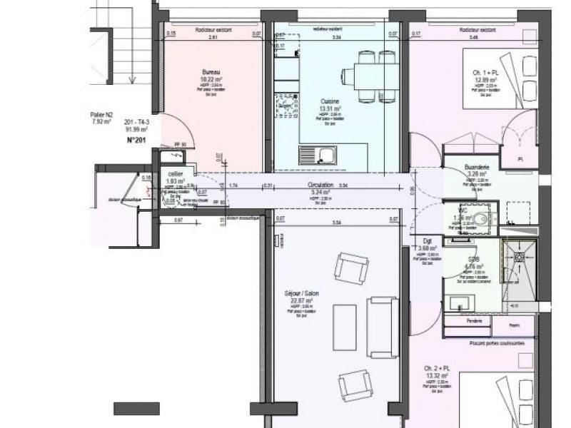 Location appartement Roanne 850€ CC - Photo 1