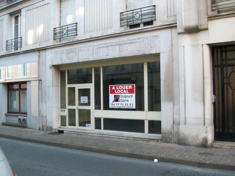 Vente local commercial Roanne 44 500€ - Photo 1