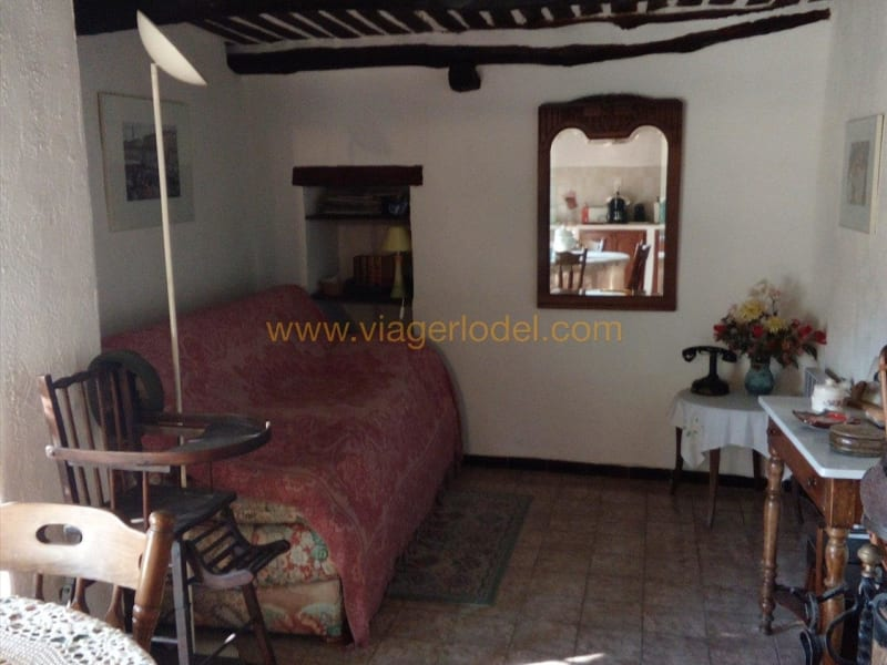 Life annuity apartment Contes 25 000€ - Picture 2