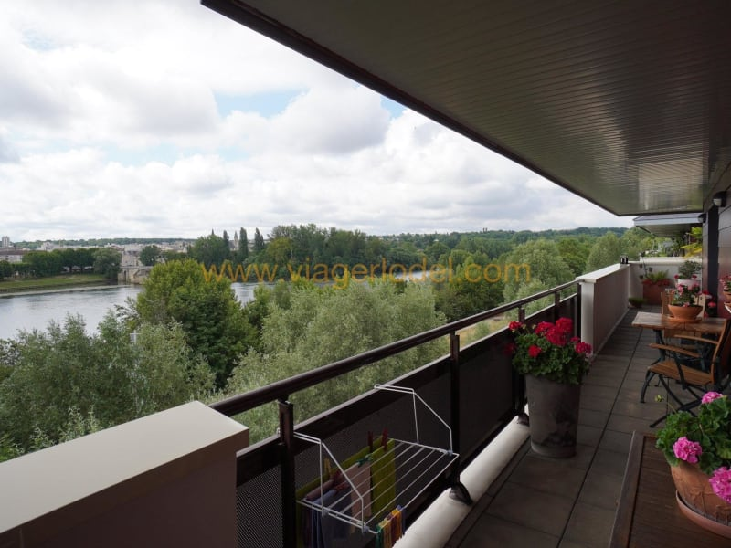 Life annuity apartment Carrières-sous-poissy 60000€ - Picture 2