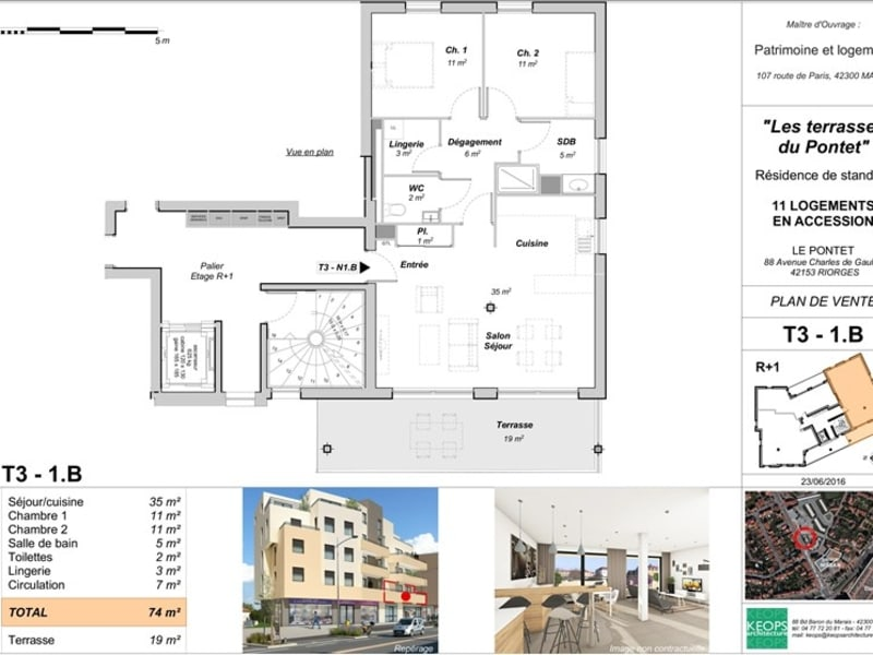 Vente neuf appartement Riorges  - Photo 4