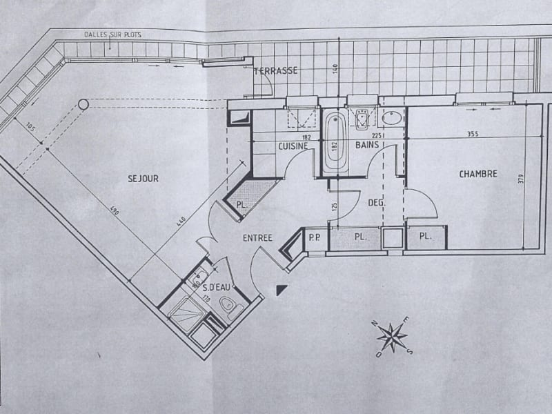 Revenda apartamento Levallois perret 360880€ - Fotografia 4
