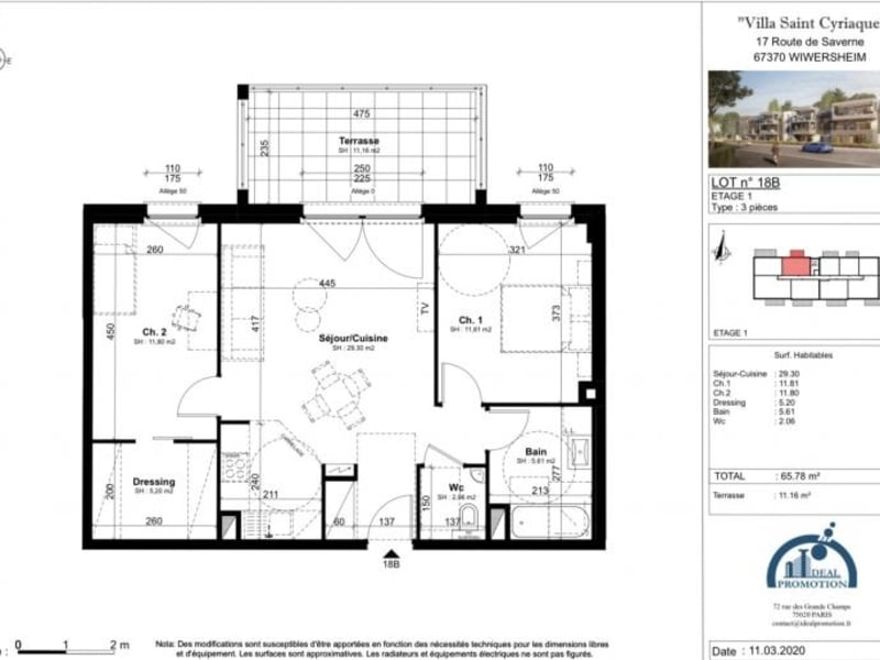 Deluxe sale apartment Wiwersheim 219450€ - Picture 4