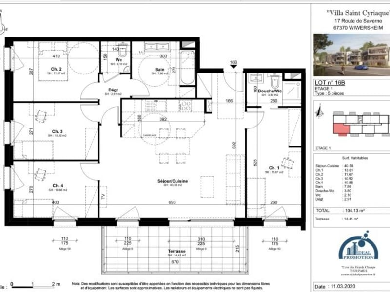 Deluxe sale apartment Wiwersheim 345450€ - Picture 3