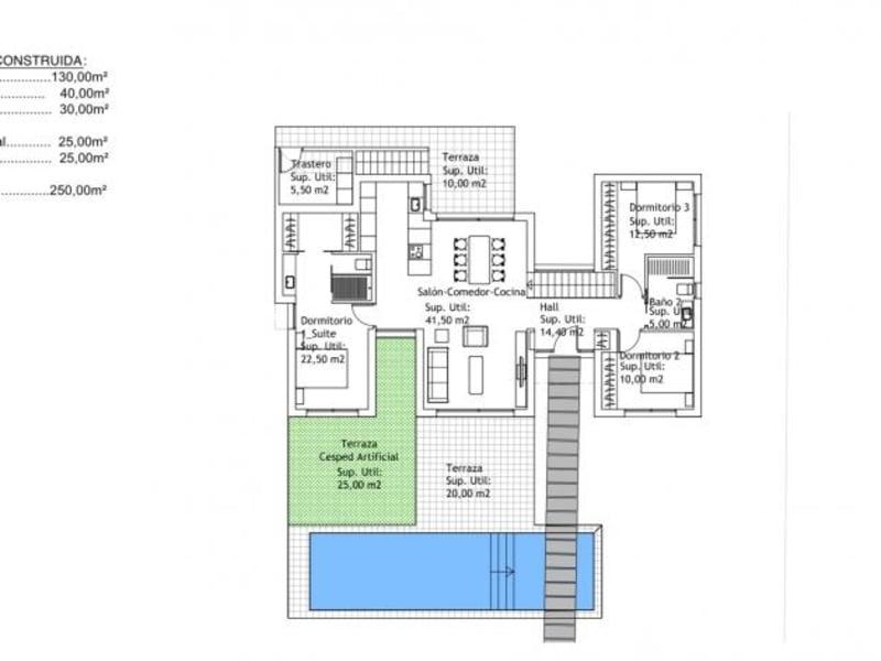Deluxe sale house / villa Orihuela 465000€ - Picture 5