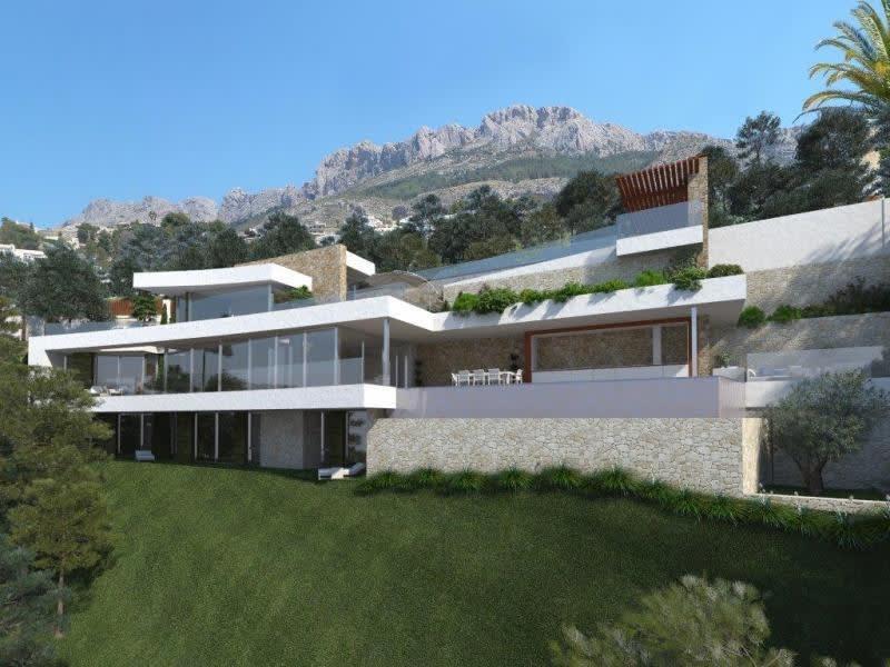 Deluxe sale house / villa Altea province d?alicante 1590000€ - Picture 1