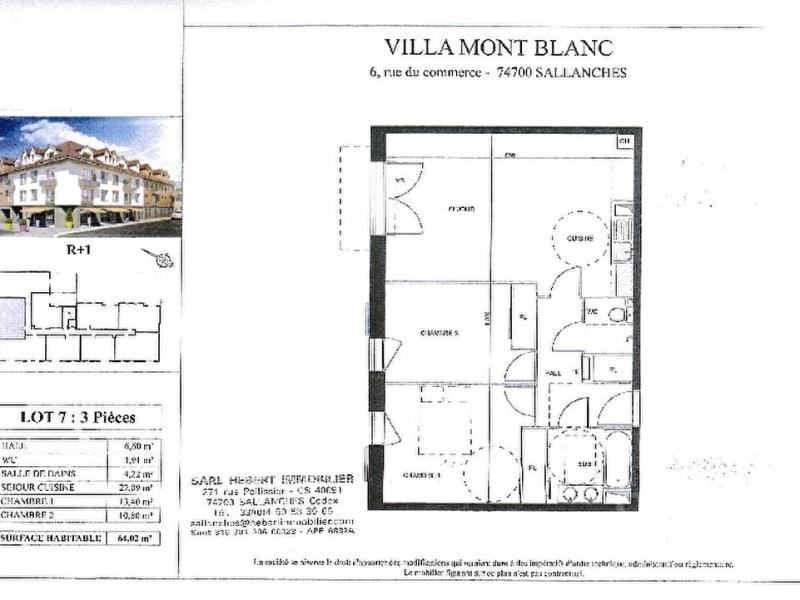 Sale apartment Sallanches 237000€ - Picture 7