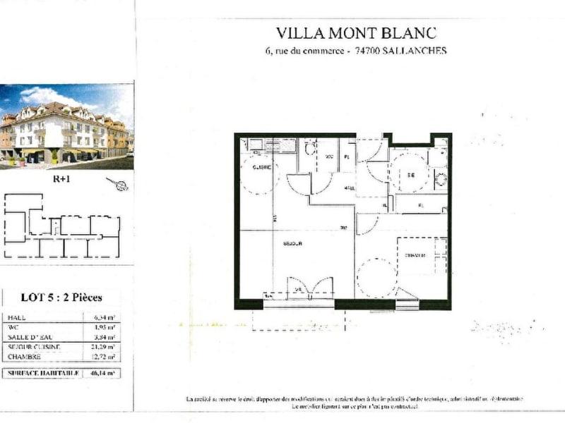Vente appartement Sallanches 166000€ - Photo 4