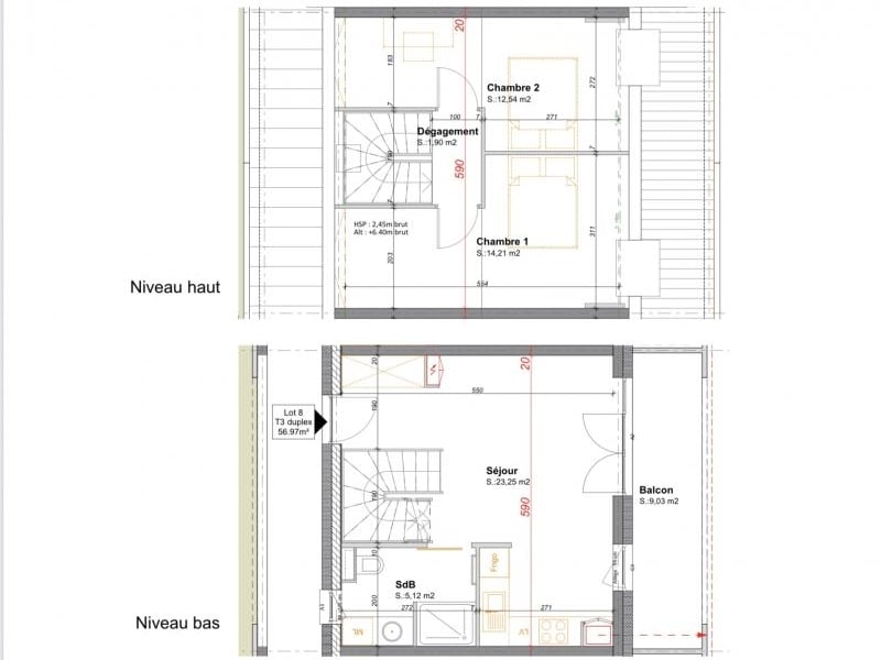 Sale apartment Erstein 182320€ - Picture 5