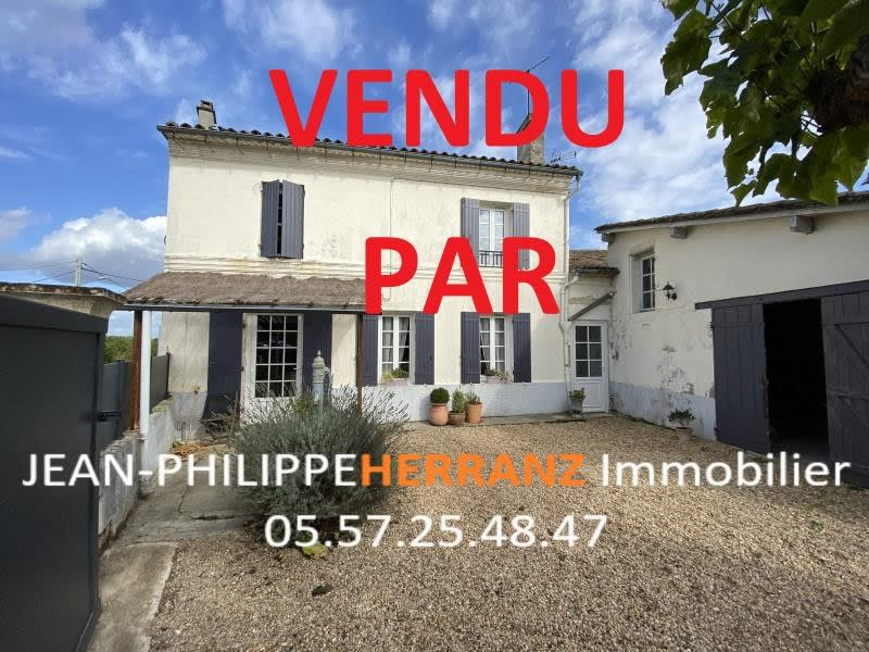 Sale house / villa Abzac 175000€ - Picture 1