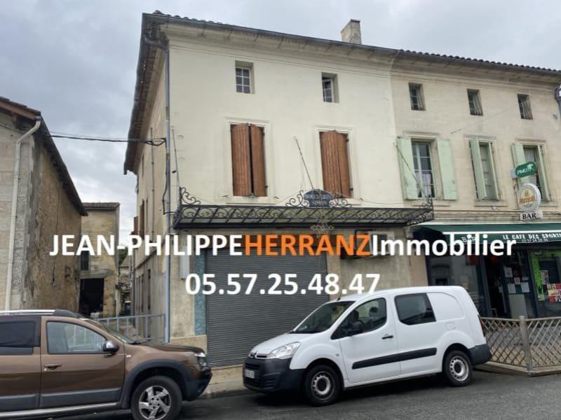 Sale building Lussac 98000€ - Picture 1